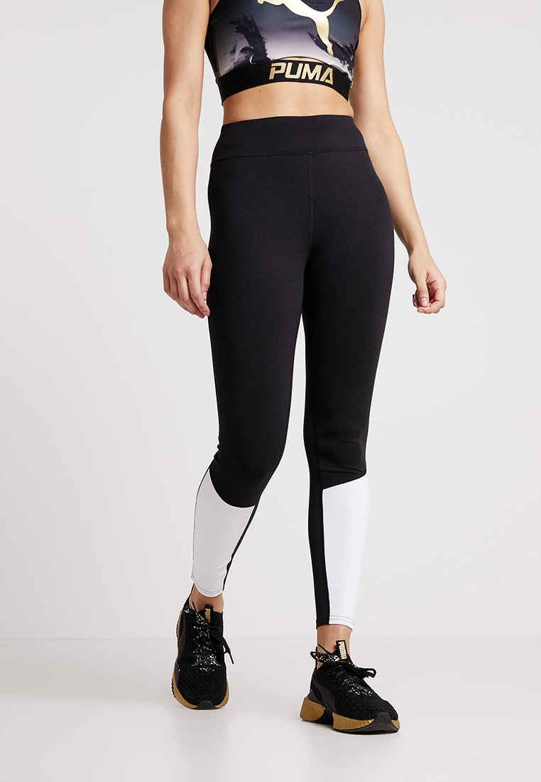 Even&Odd active - Leggings - white/black