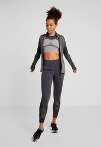 Even&Odd active - Medias - grey/black - 1