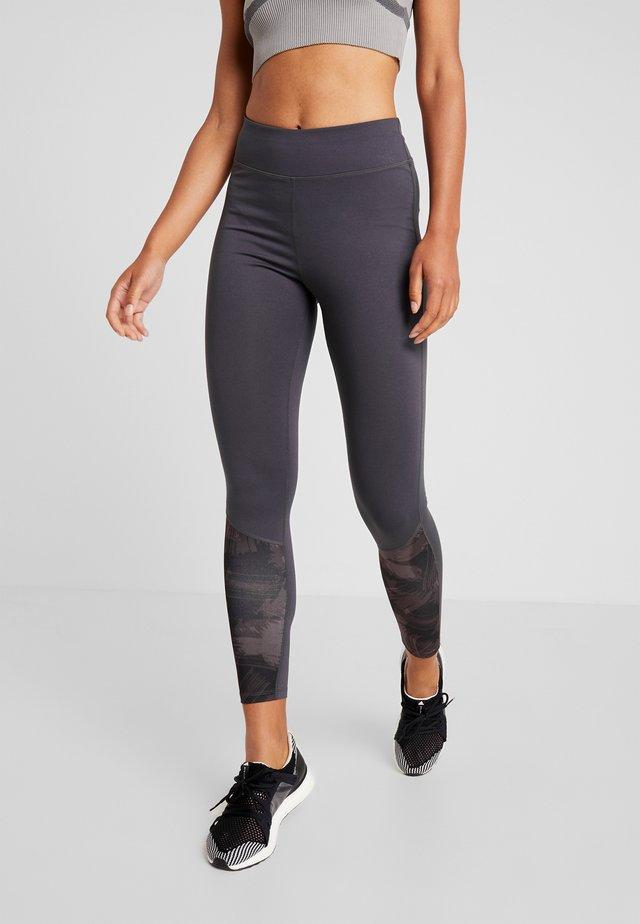Leggings - grey/black