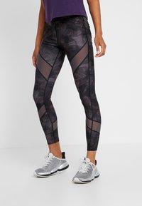 Even&Odd active - Leggings - grey/black - 0