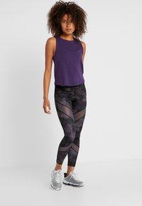 Even&Odd active - Leggings - grey/black - 1