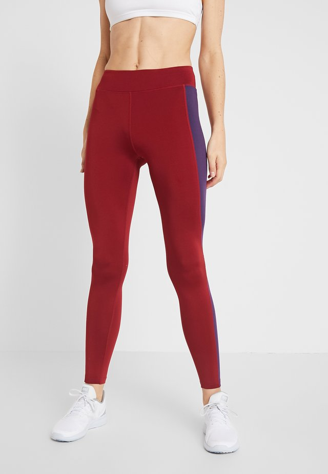 Leggings - bordeaux/purple