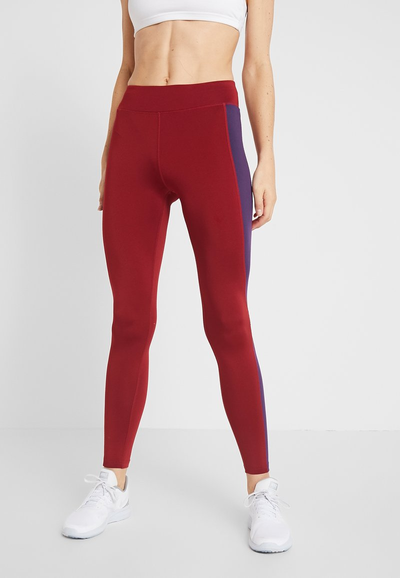 Even&Odd active - Leggings - bordeaux/purple