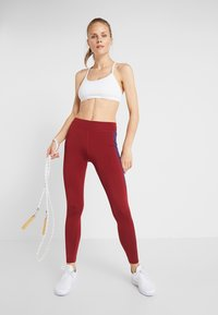 Even&Odd active - Leggings - bordeaux/purple - 1