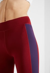 Even&Odd active - Leggings - bordeaux/purple - 3