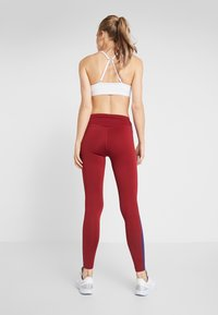 Even&Odd active - Leggings - bordeaux/purple - 2