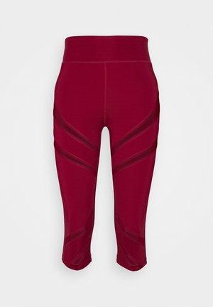 Pantalón 3/4 de deporte - dark red