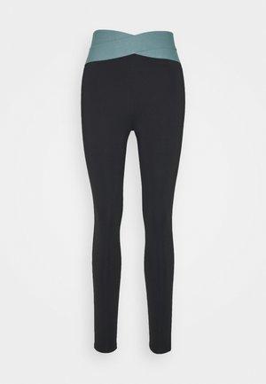 HIGH WAIST BANDED LEGGING - Legging - black