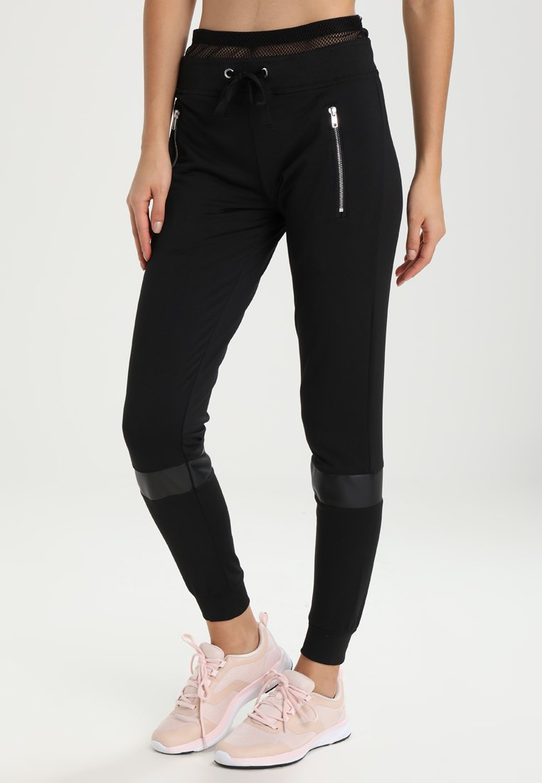 Even&Odd active - Pantaloni sportivi - black