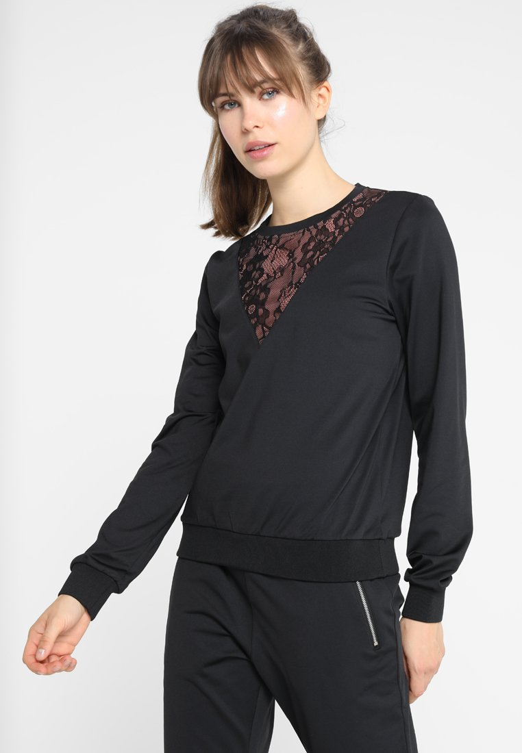 Even&Odd active - Bluza - jet black