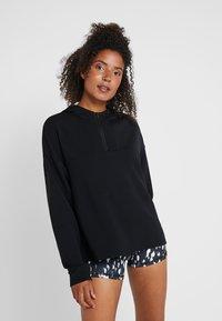 Even&Odd active - Jersey con capucha - black - 0