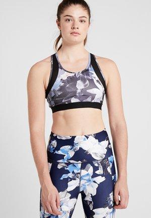 Sports bra - black/multicoloured