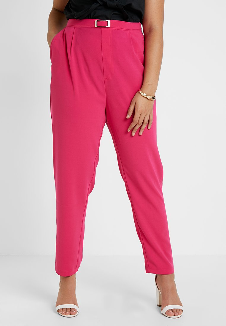 Even&Odd Curvy - Trousers - pink
