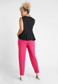 Even&Odd Curvy - Kalhoty - pink - 2
