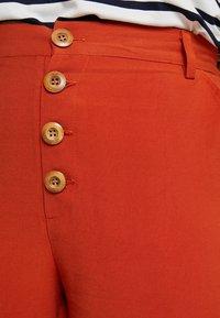 Even&Odd Curvy - Kangashousut - rusty red as proto - 4