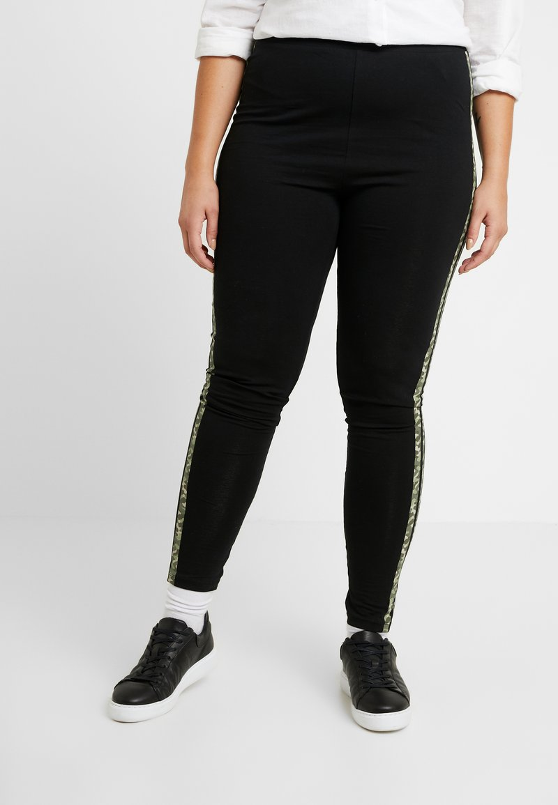 Even&Odd Curvy - Leggings - Trousers - black