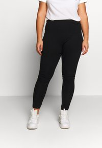 Even&Odd Curvy - 2 PACK - Leggings - Trousers - black - 2