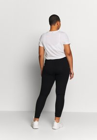Even&Odd Curvy - 2 PACK - Leggings - Trousers - black - 3