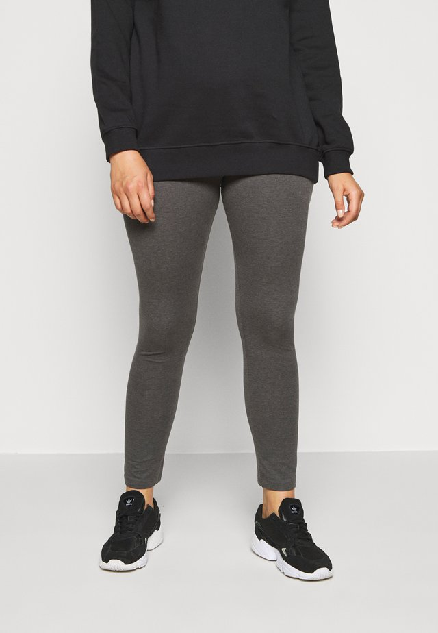 2 PACK - Leggings - Trousers - black/grey