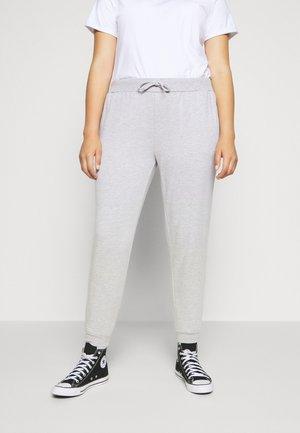 2 PACK SLIM FIT JOGGERS - Teplákové kalhoty - black/light grey