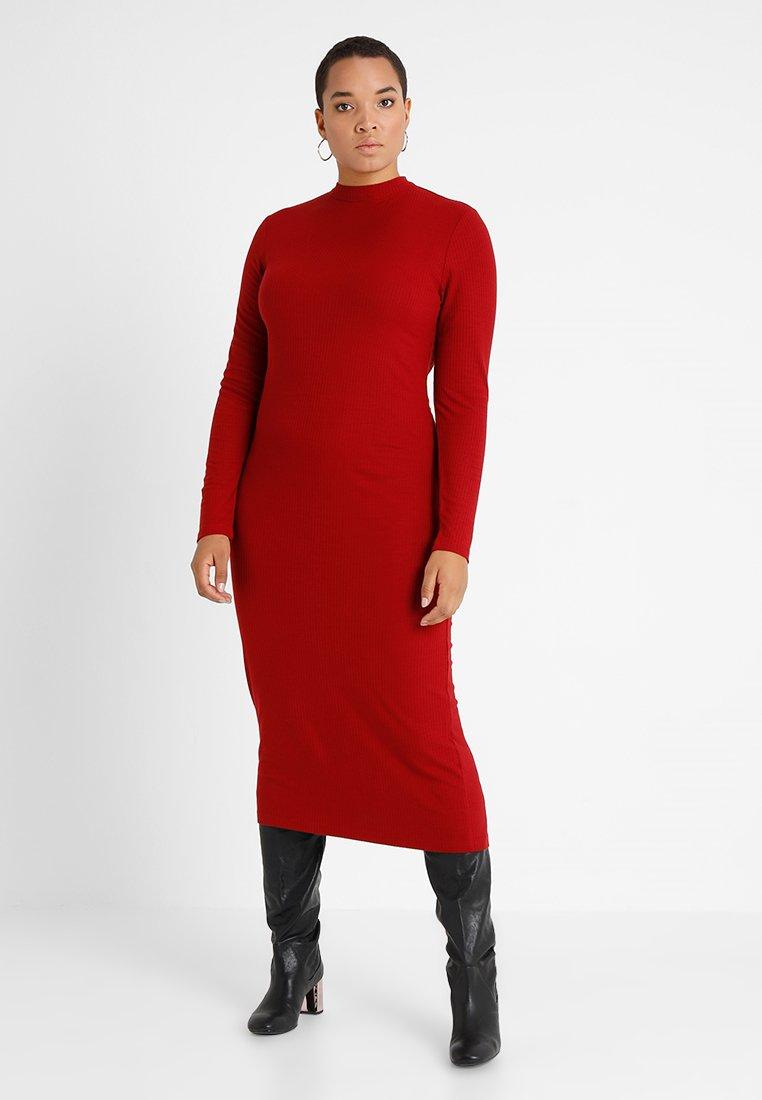 Even&Odd Curvy - Maxi dress - red