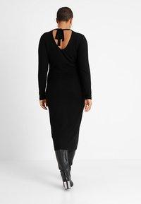 Even&Odd Curvy - Maxi dress - black - 2