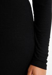 Even&Odd Curvy - Maxi dress - black - 6