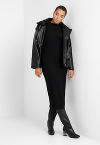 Even&Odd Curvy - Maxi dress - black - 1