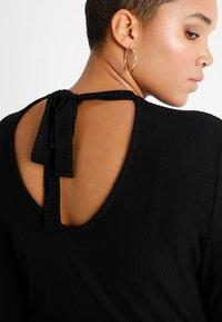 Even&Odd Curvy - Maxi dress - black - 4