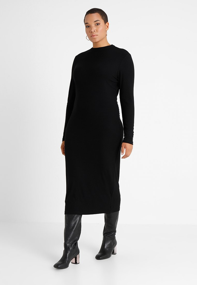 Even&Odd Curvy - Maxi dress - black