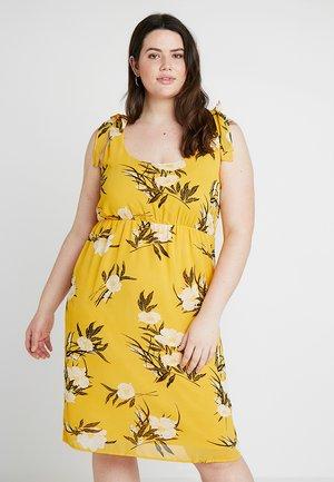 Kjole - yellow