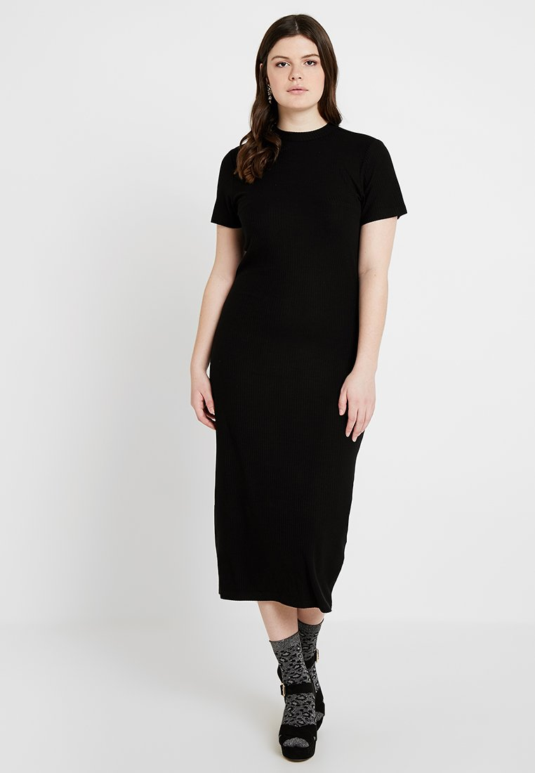 Even&Odd Curvy - Vestido de tubo - black