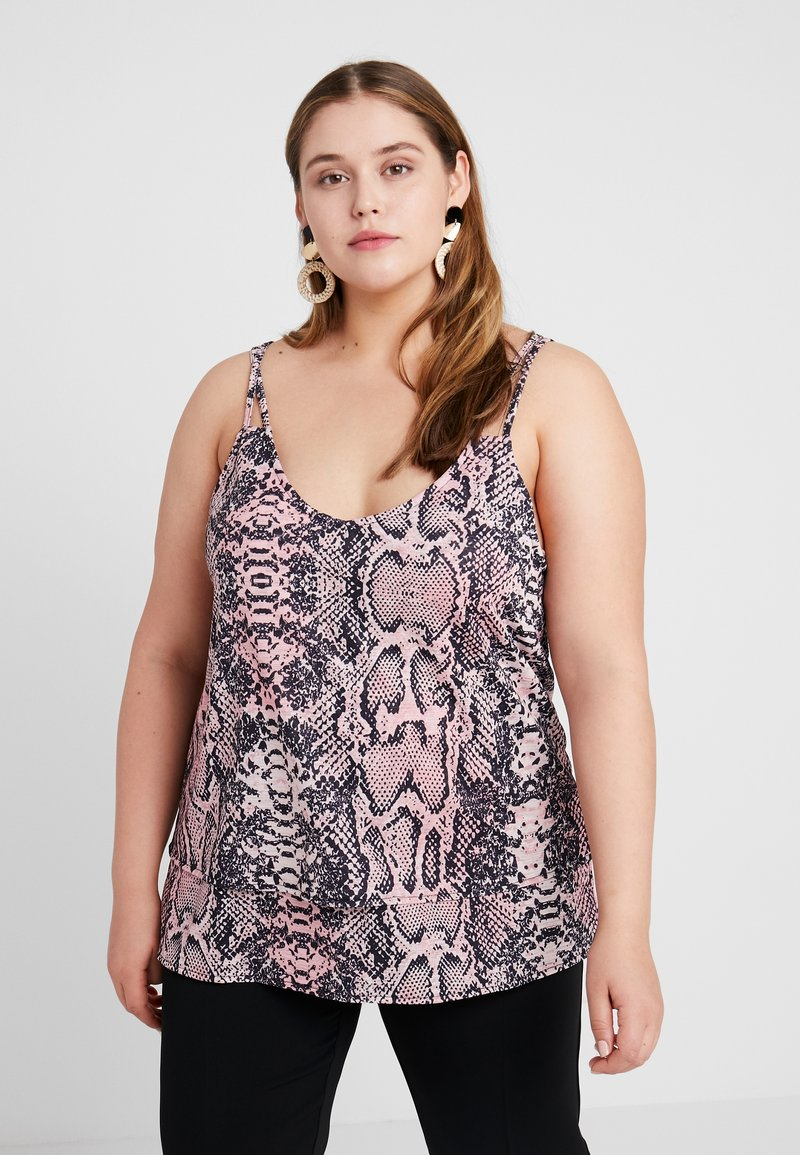 Even&Odd Curvy - Top - Pink