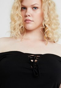 Even&Odd Curvy - Etui-jurk - black - 4