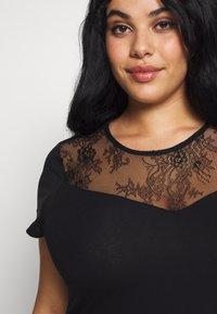 Even&Odd Curvy - Jersey dress - black - 3