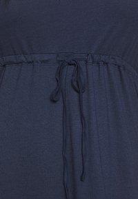 Even&Odd Curvy - Maxi dress - dark blue - 5