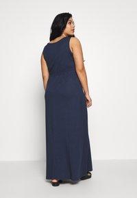 Even&Odd Curvy - Maxi dress - dark blue - 2