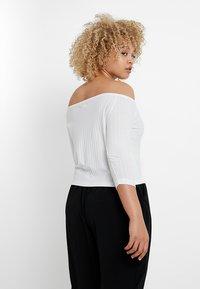 Even&Odd Curvy - T-Shirt print - white - 2