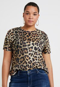 Even&Odd Curvy - T-shirt print - multi coloured - 0