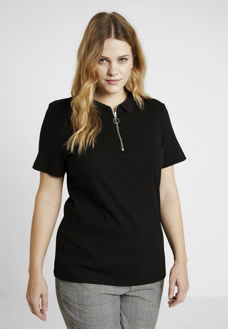 Even&Odd Curvy - T-shirts print - black/black