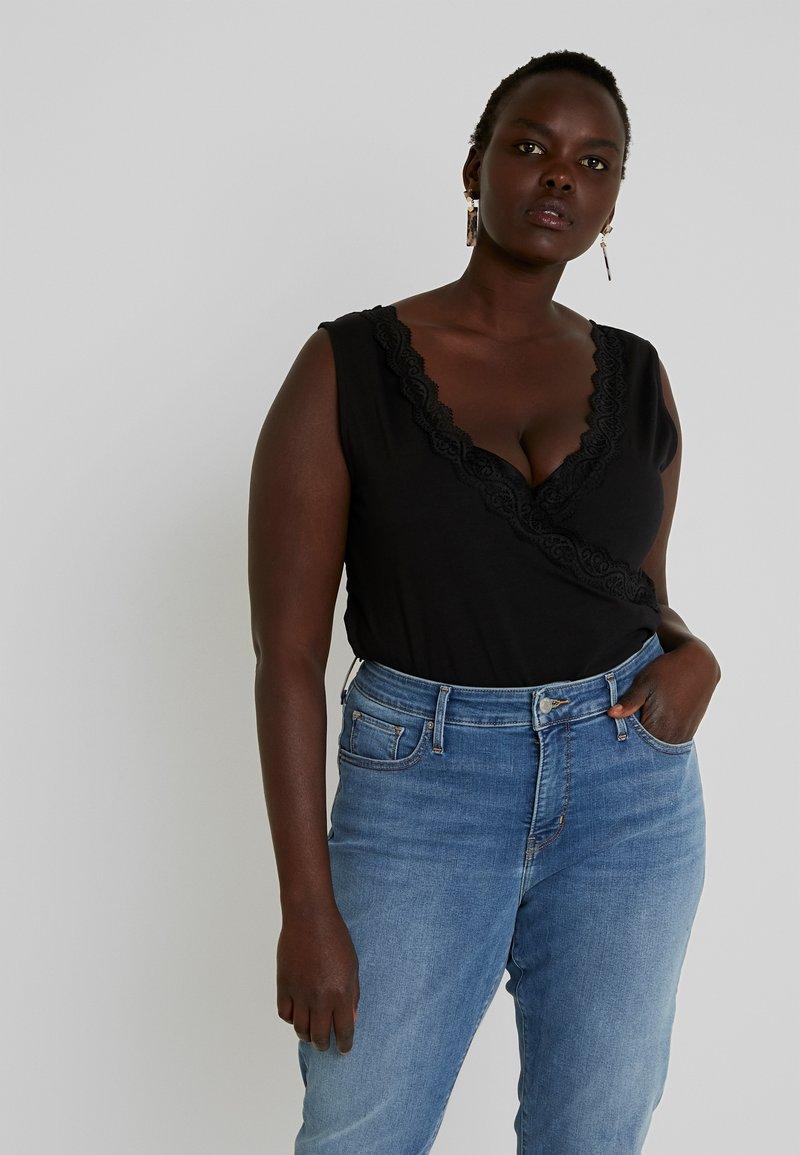 Even&Odd Curvy - Linne - black/black