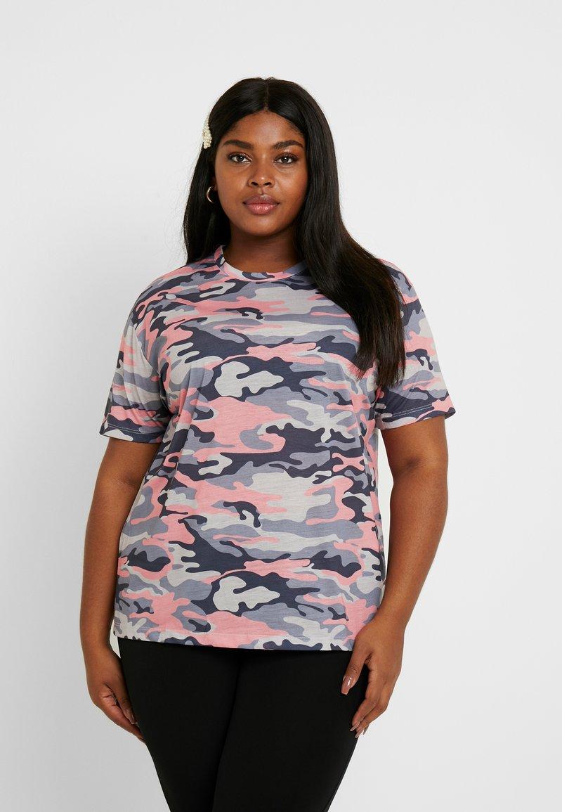 Even&Odd Curvy - Print T-shirt - multicoloured