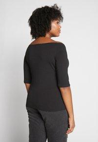 Even&Odd Curvy - 2 PACK - Long sleeved top - white/black - 3