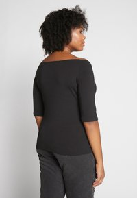 Even&Odd Curvy - 2 PACK - T-shirts basic - white/black - 2
