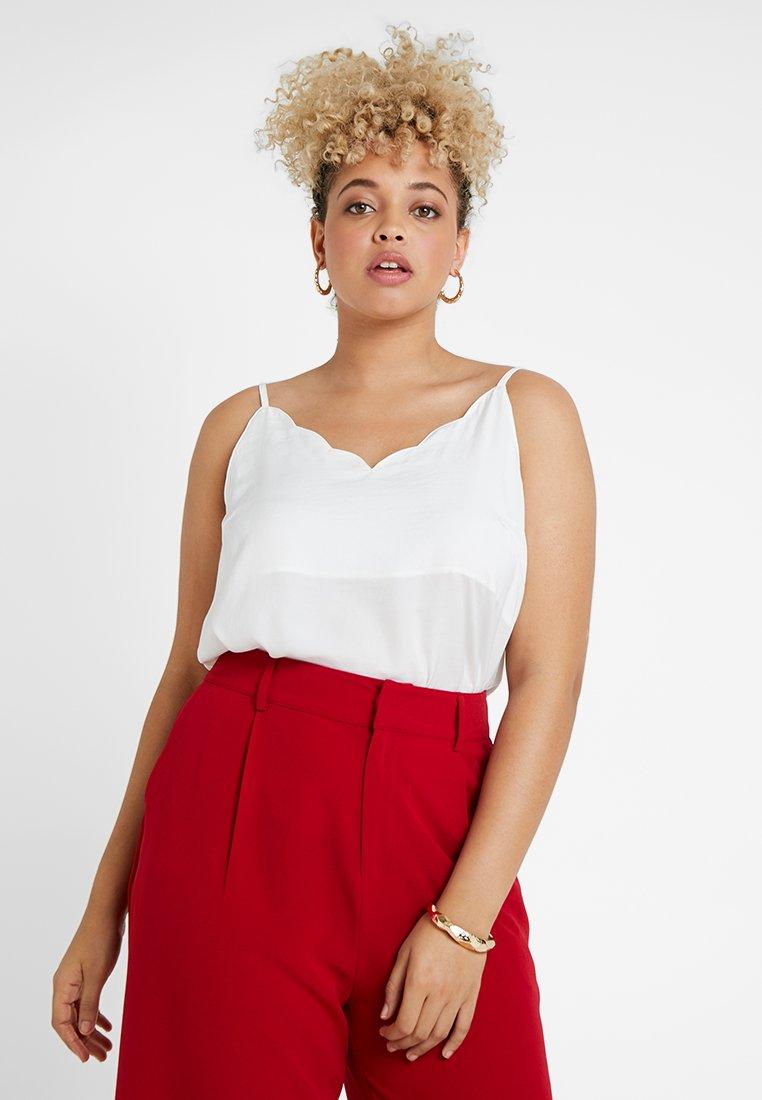 Even&Odd Curvy - Blouse - white