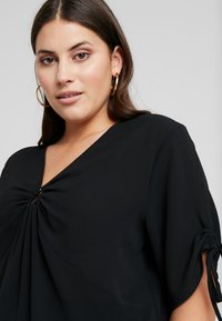 Even&Odd Curvy - Blouse - black - 3