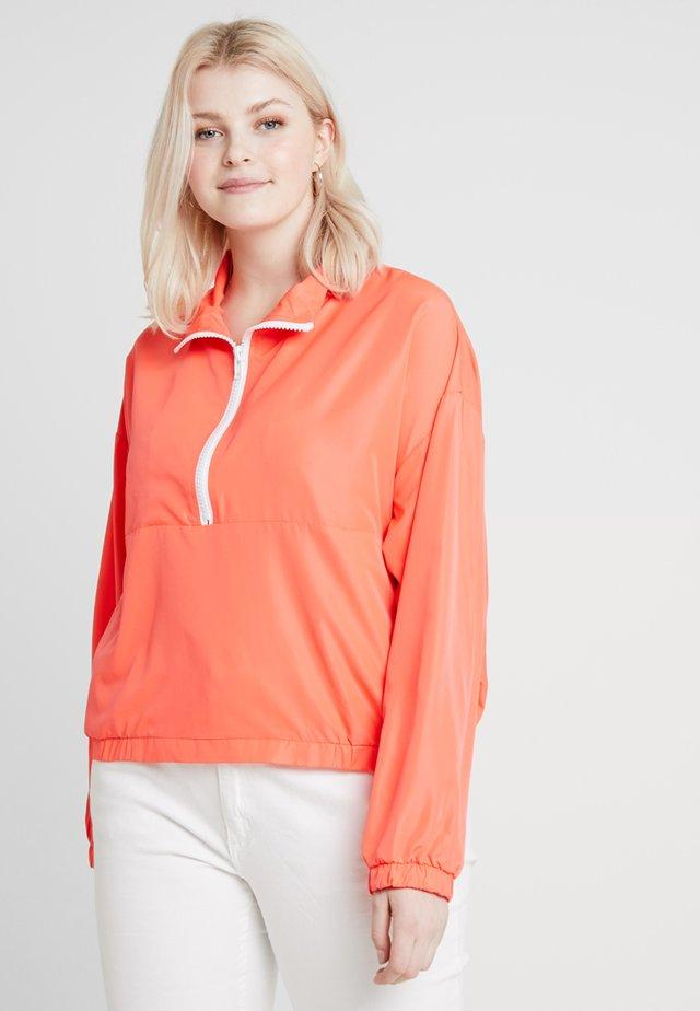 Training jacket - neon pink