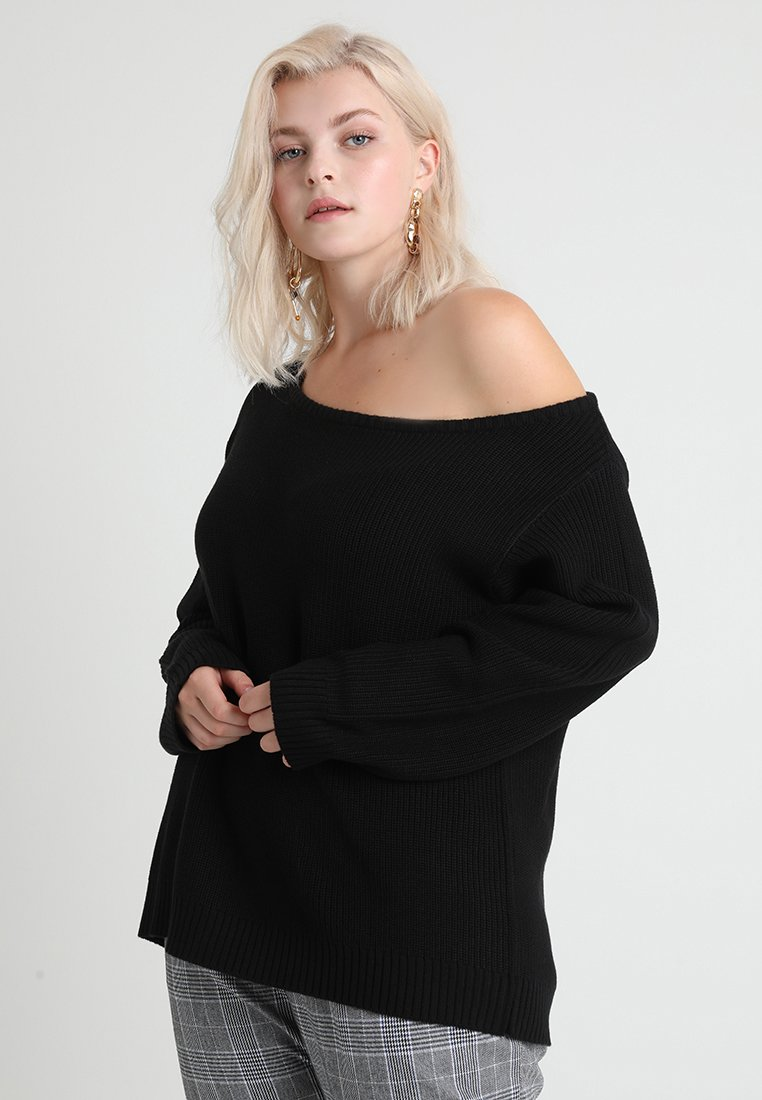 Even&Odd Curvy - Jumper - black