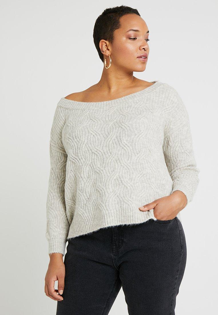 Even&Odd Curvy - Pullover - grey