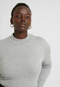 Even&Odd Curvy - Pullover - grey - 3